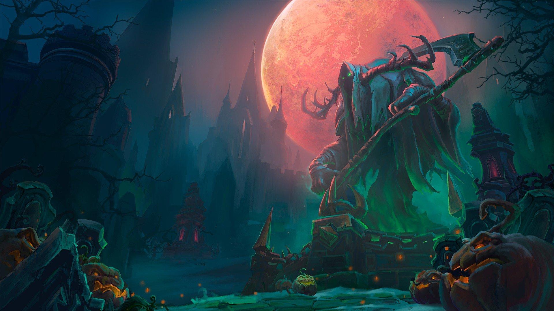Heroes Of The Storm Towers Of Doom Halloween Dark Video Games