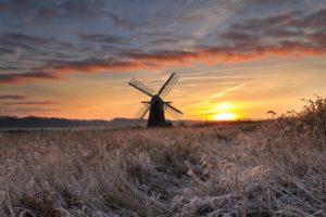 winter, Ice, Sun, Landscape, Sky, Clouds, Sunlight, Nature