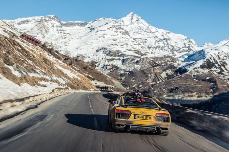 mountains, Road, Vehicle, Car, Audi HD Wallpaper Desktop Background