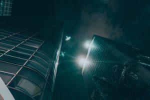 cityscape, City lights, Skyscrapper, Lights, Sky, Building