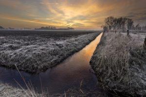 winter, Landscape, Nature, Sky, Clouds