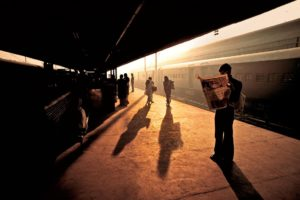 Steve McCurry, People, Photographer, India, Train station, Train, Photography