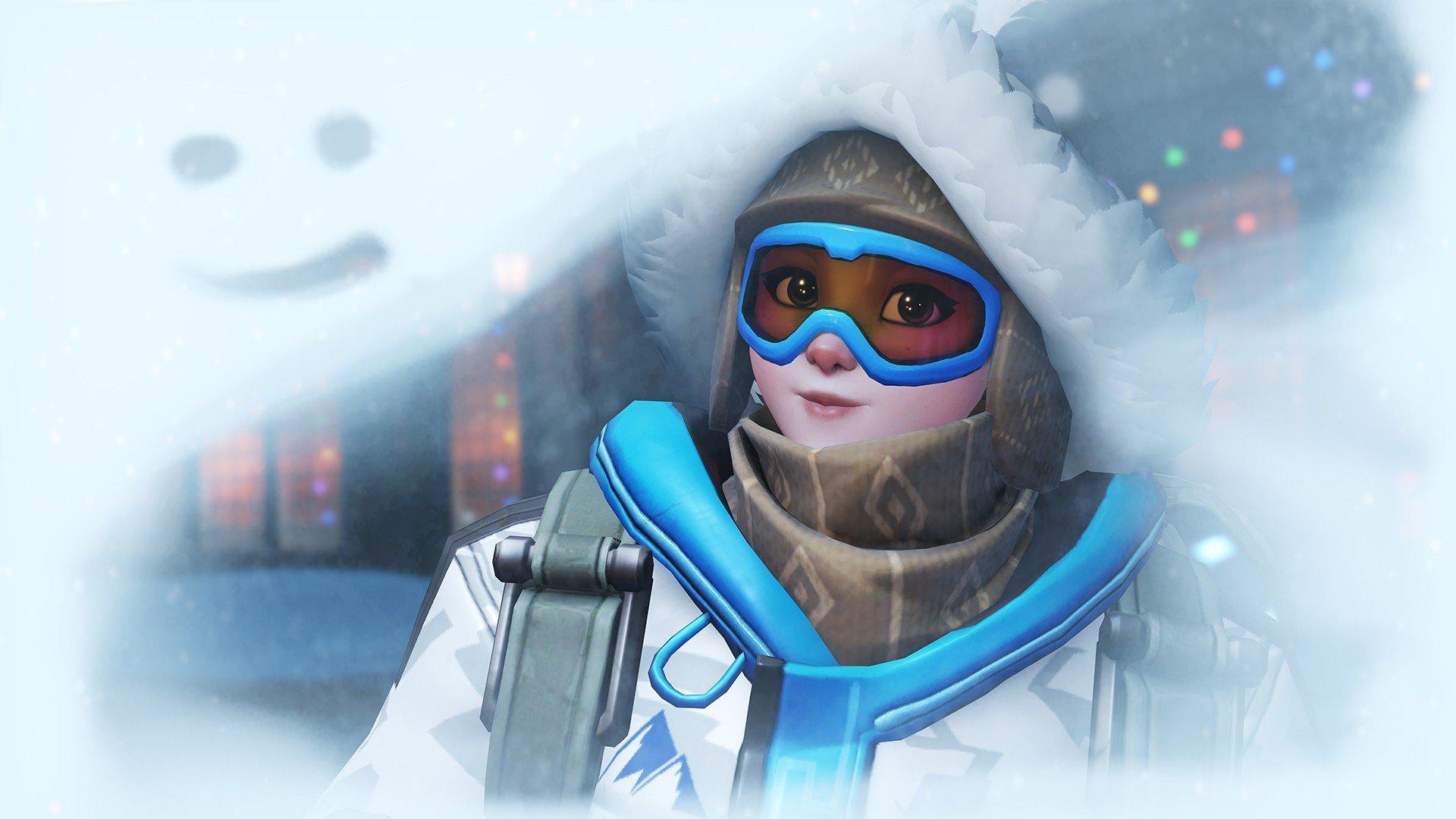 Overwatch snow mei overwatch hd wallpapers desktop - Mei wallpaper ...