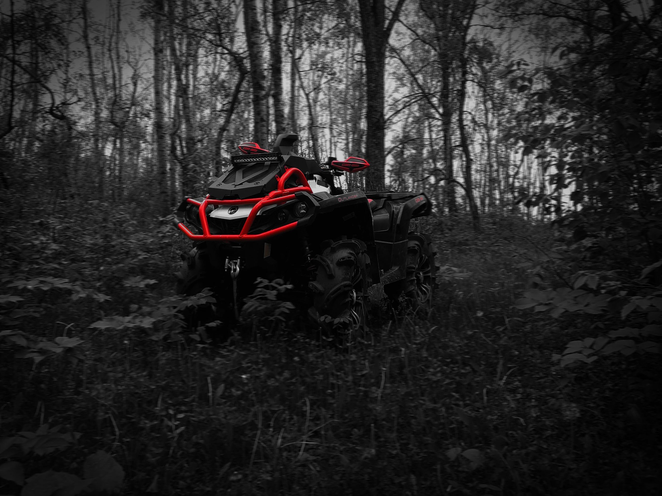 Quad, Outlander, Can Am, Brp, Landscape HD Wallpapers