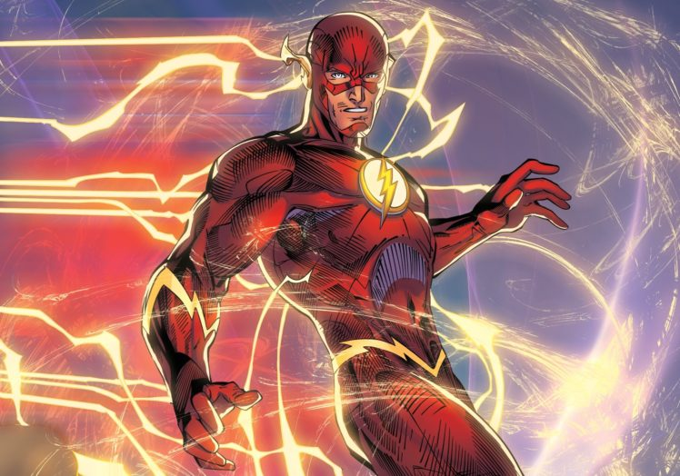 Flash Superhero Dc Comics Hd Wallpapers Desktop And Mobile