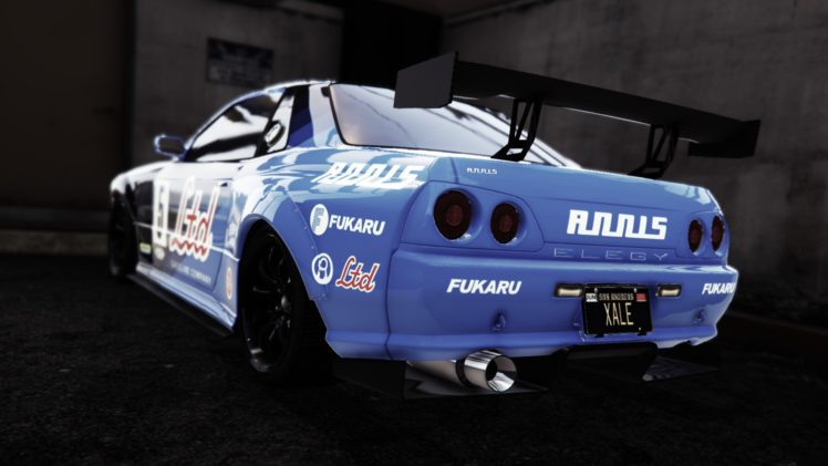 Gamers Grand Theft Auto V Nissan Skyline R32 Video Games