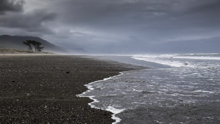 New Zealand, Coast, Sea, Landscape, Nature HD Wallpaper Desktop Background