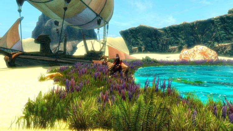 The Elder Scrolls V: Skyrim, Dragonborn, Bethesda Softworks, Desert, Video games HD Wallpaper Desktop Background