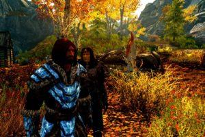 vampires, The Elder Scrolls V: Skyrim, Landscape, Bethesda Softworks, Video games