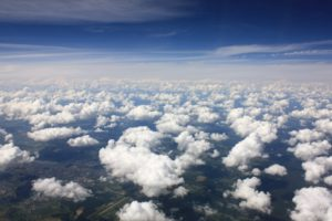 little puffy clouds, Clouds, Sky, Clear sky
