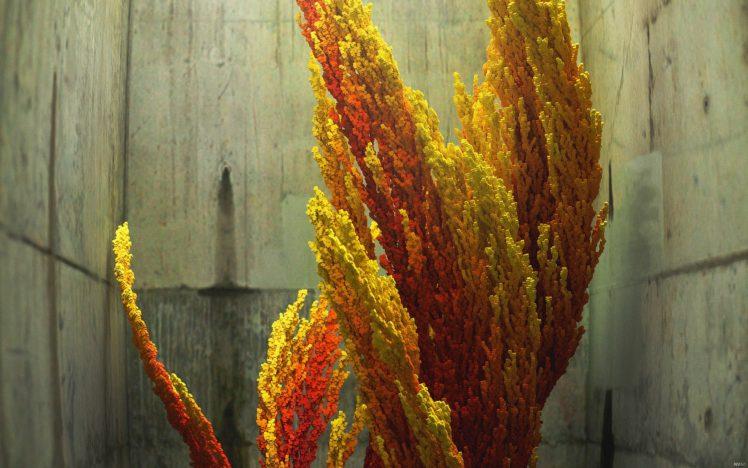 abstract, Urban decay, CGI, Digital art, Fire, 3D HD Wallpaper Desktop Background