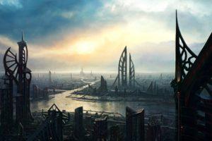 science fiction, Aliens, Alien world