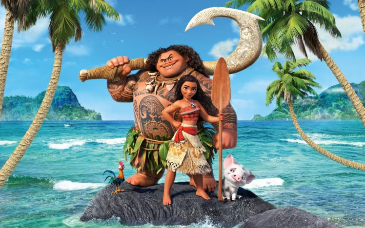 Disney princesses, Moana, Vaiana HD Wallpaper Desktop Background