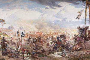 historic, Battle of Grunwald, Žalgirio mūšis, Lithuania, Teutonic, Battlefields, Painting, Poland