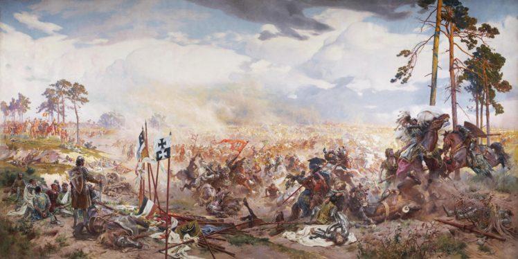 Historic Battle Of Grunwald Zalgirio Musis Lithuania Teutonic Battlefields Painting Poland Hd Wallpapers Desktop And Mobile Images Photos