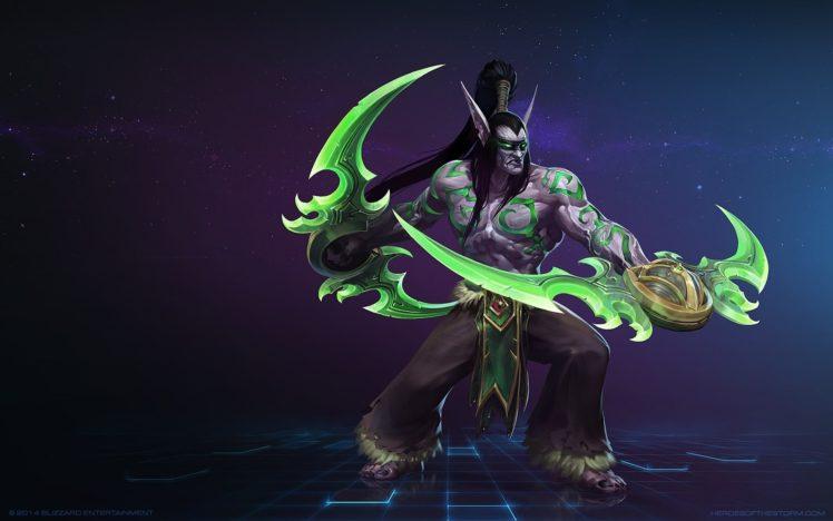 Illidan, World of Warcraft, Video games, Heroes of the storm HD Wallpaper Desktop Background