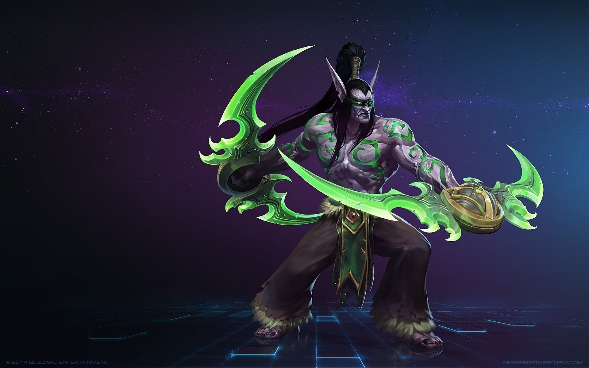 Illidan World Of Warcraft Video Games Heroes Of The Storm Hd