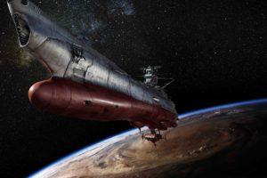 spaceship, Space, Space Battleship Yamato
