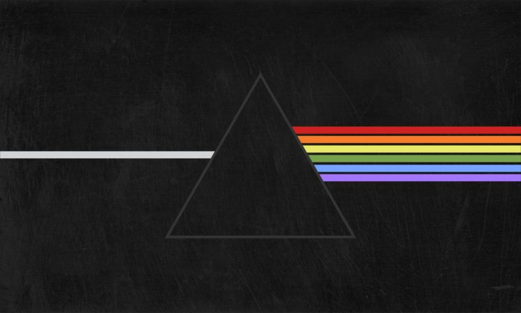 Pink Floyd, Triangle, Prism, The Dark Side Of The Moon