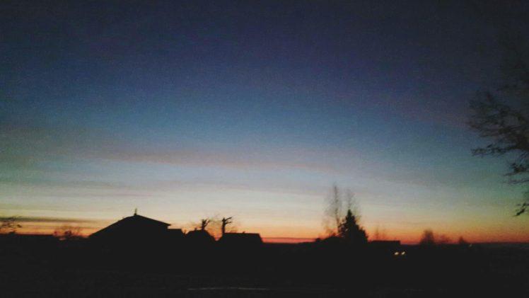 landscape, Blurred, Morning, Sunrise, Silhouette, Lights, Photography HD Wallpaper Desktop Background