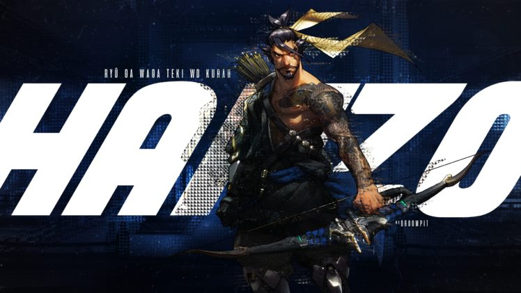 Hanzo Overwatch Overwatch Hd Wallpapers Desktop And Mobile Images Photos