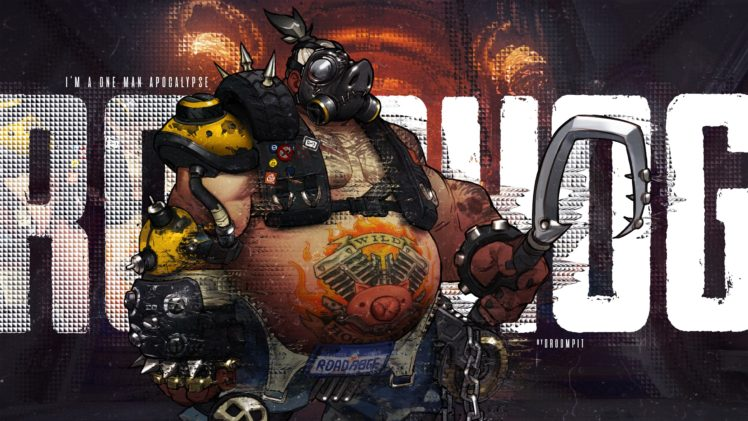 Roadhog (Overwatch), Overwatch HD Wallpaper Desktop Background