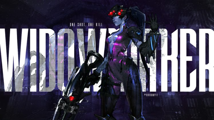 Black Widow Overwatch Widowmaker Overwatch Hd Wallpapers