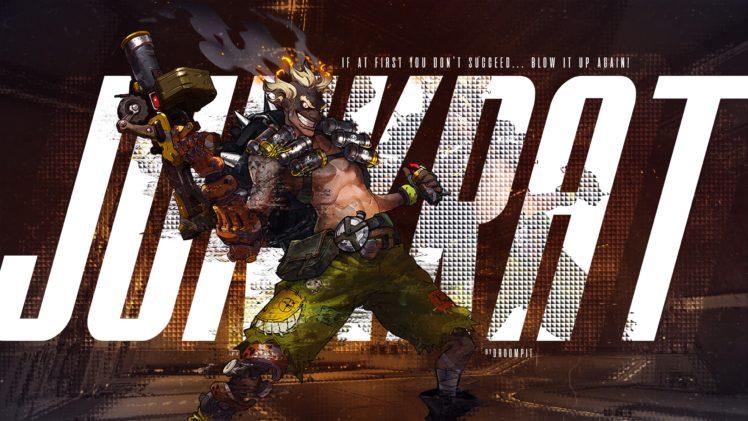 Junkrat (Overwatch), Overwatch HD Wallpaper Desktop Background