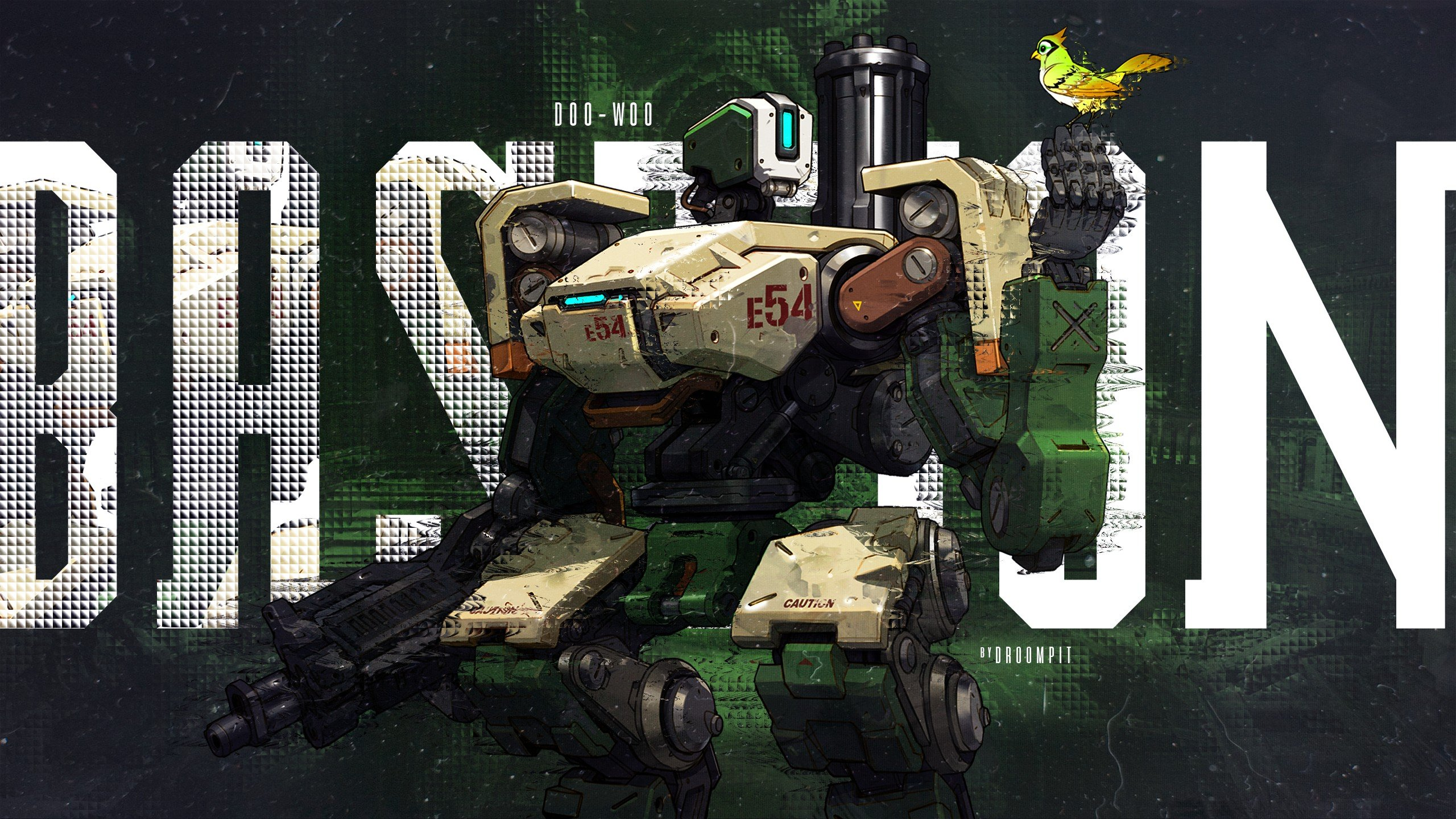 Bastion overwatch overwatch hd wallpapers desktop and mobile images photos - Bastion wallpaper ...