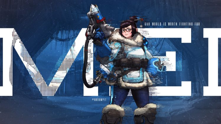 Mei Overwatch Overwatch Hd Wallpapers Desktop And Mobile Images