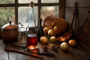 Onions, Food, Spoon, Window