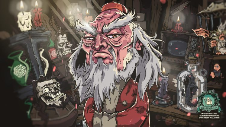 Robot Wizard, Video games, Xbox, PlayStation 4, Jengo HD Wallpaper Desktop Background