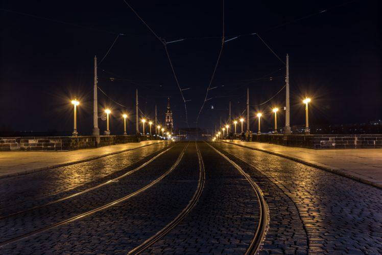 Photography Street Light Dresden HD Wallpaper Desktop Background
