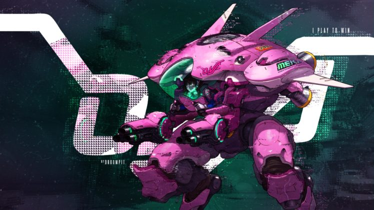 D.Va (Overwatch), Overwatch HD Wallpaper Desktop Background