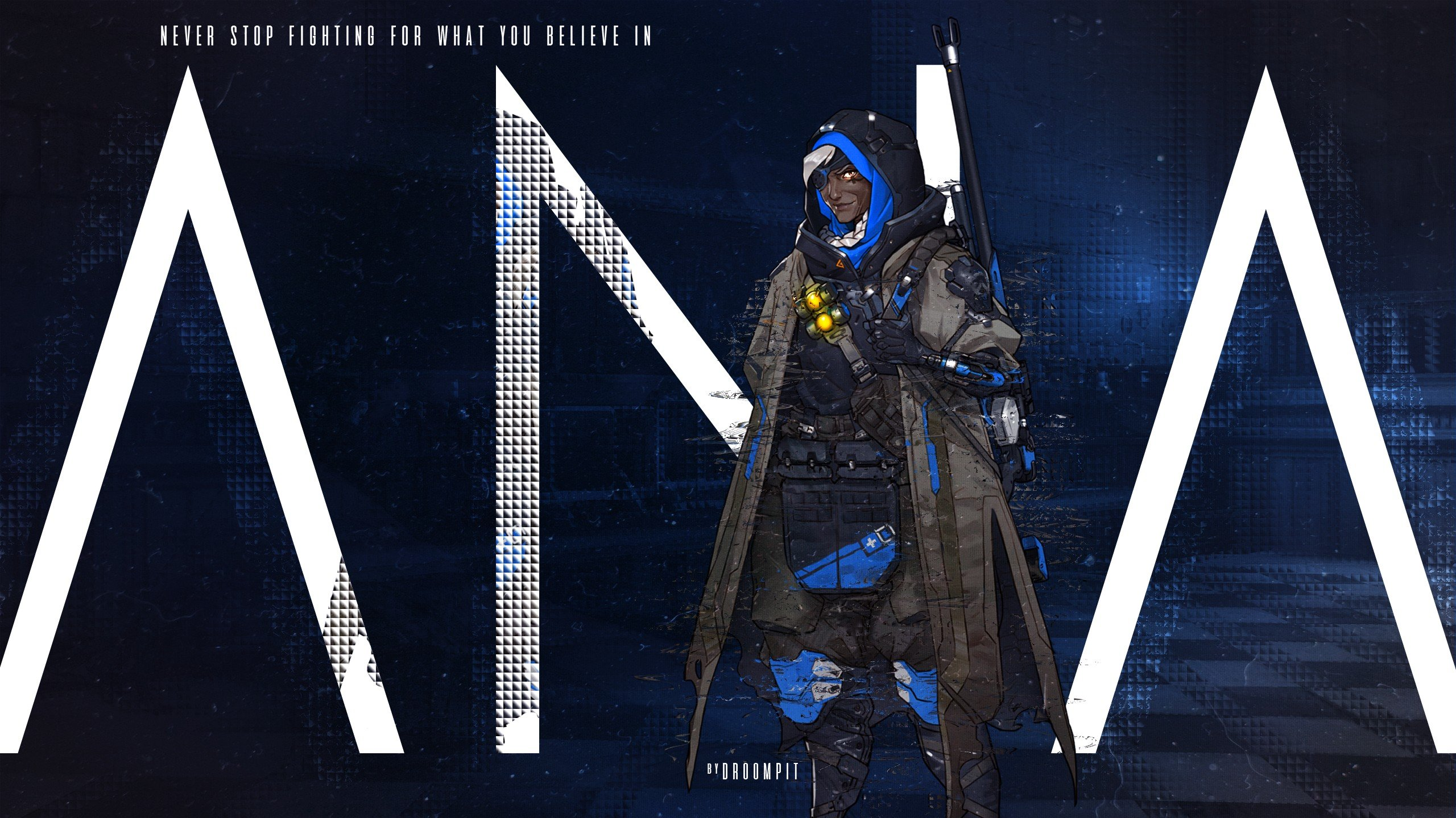 Ana Overwatch Overwatch Hd Wallpapers Desktop And Mobile Images Photos