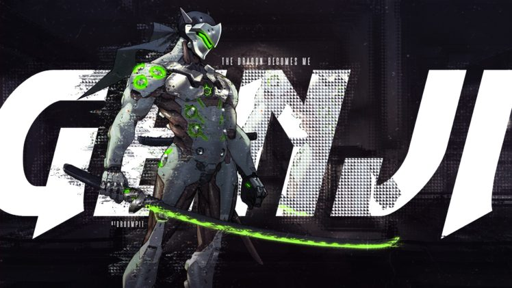 Genji Shimada, Genji (Overwatch), Overwatch HD Wallpaper Desktop Background