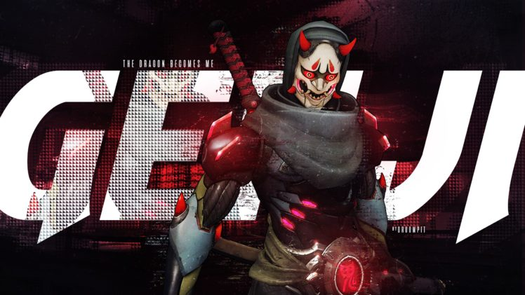Genji Shimada, Genji (Overwatch), Oni Genji (Overwatch) HD Wallpaper Desktop Background