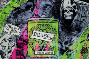 DEDSEC, Watch Dogs, Hacking, Democracy, Hello World, Watch Dogs 2