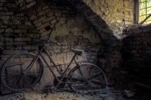 abandoned, Bicycle, Wreck
