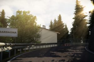 Assetto Corsa, In game, Kunos Simulazioni, Forest, Sunlight, Daylight, Video games