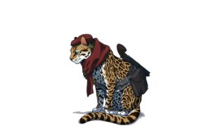 Revolver Ocelot, Animals, Drawing, Ocelot
