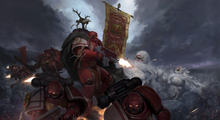 Wh40k Warhammer 40 000 Space Marine Hd Wallpapers