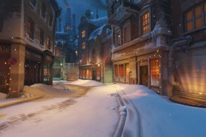 KINGSROW, Overwatch, Christmas