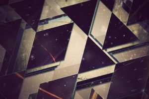 abstract, Triangle