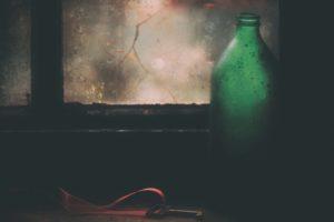 keys, Bottles, Window
