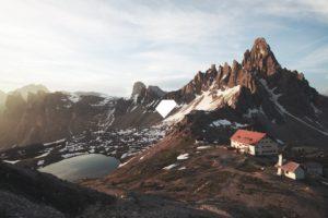 mountains, Landscape