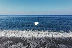 sea, Waves, Blue