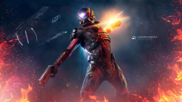 Andromeda Initiative, Mass Effect: Andromeda, Mass Effect HD Wallpaper Desktop Background