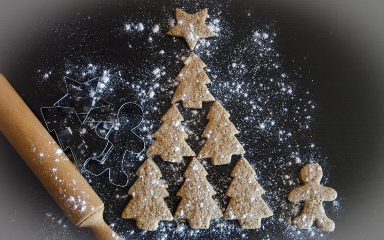 cake, Christmas, Food HD Wallpaper Desktop Background