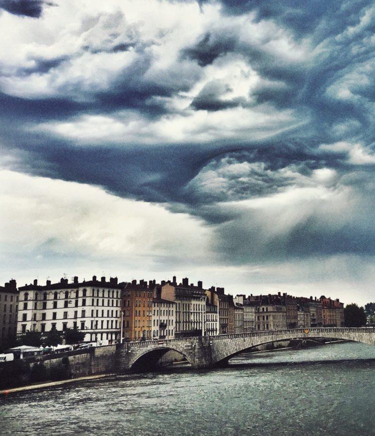 Lyon, Bridge, River HD Wallpapers / Desktop And Mobile